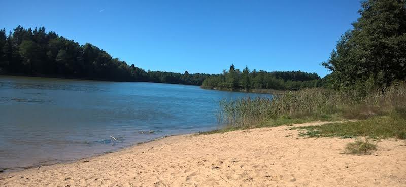 Moja samotna wyprawa nad jezioro