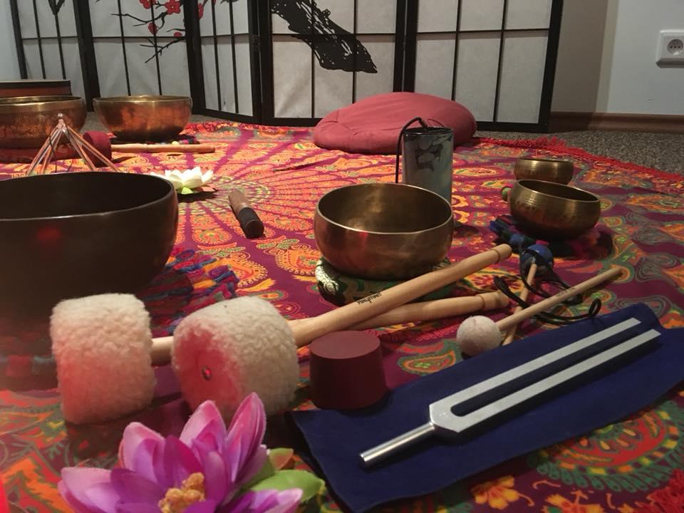 Kąpiel w dźwiękach 17 luty Shanti Yoga Studio