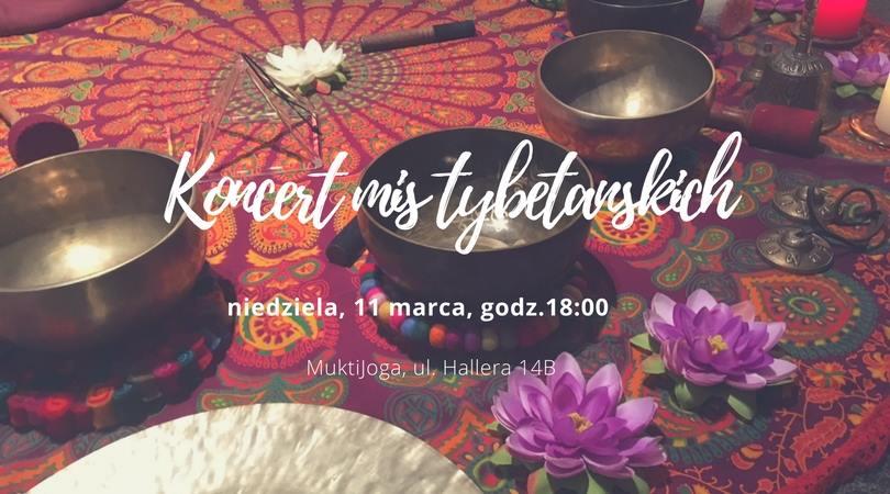 Koncert gongów w MuktiJoga 11 marzec 2018
